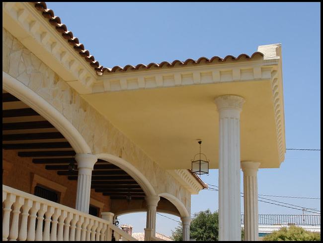 Molduras de poliestireno expandido para arquitectura - Molduras decorativas poliestireno ...