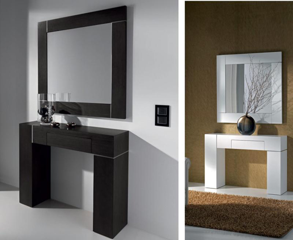 Escenografias y decoracion en poliestireno expandido for Espejos modernos en madera